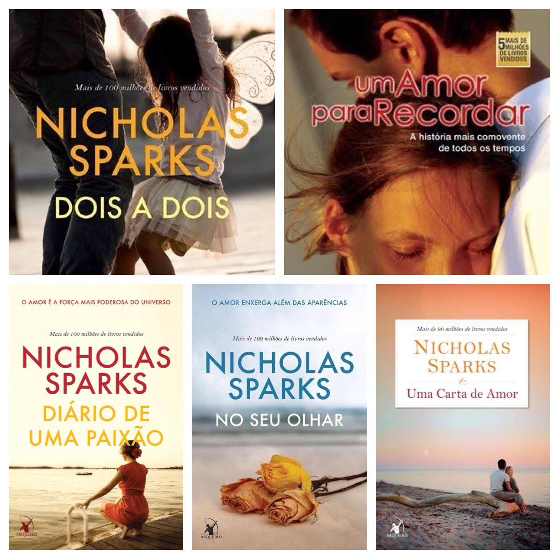 Nicholas Sparks - Top 5 - PJ