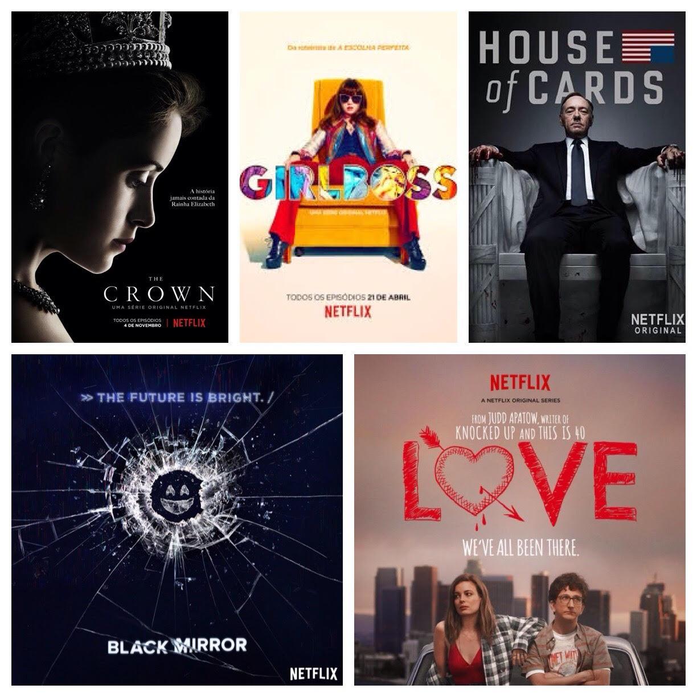 Top 5 - séries Netflix - PJ