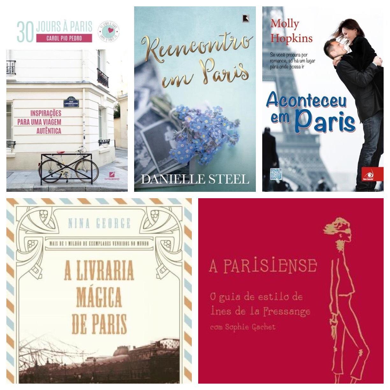 Top 5 - Livros e Paris - PJ