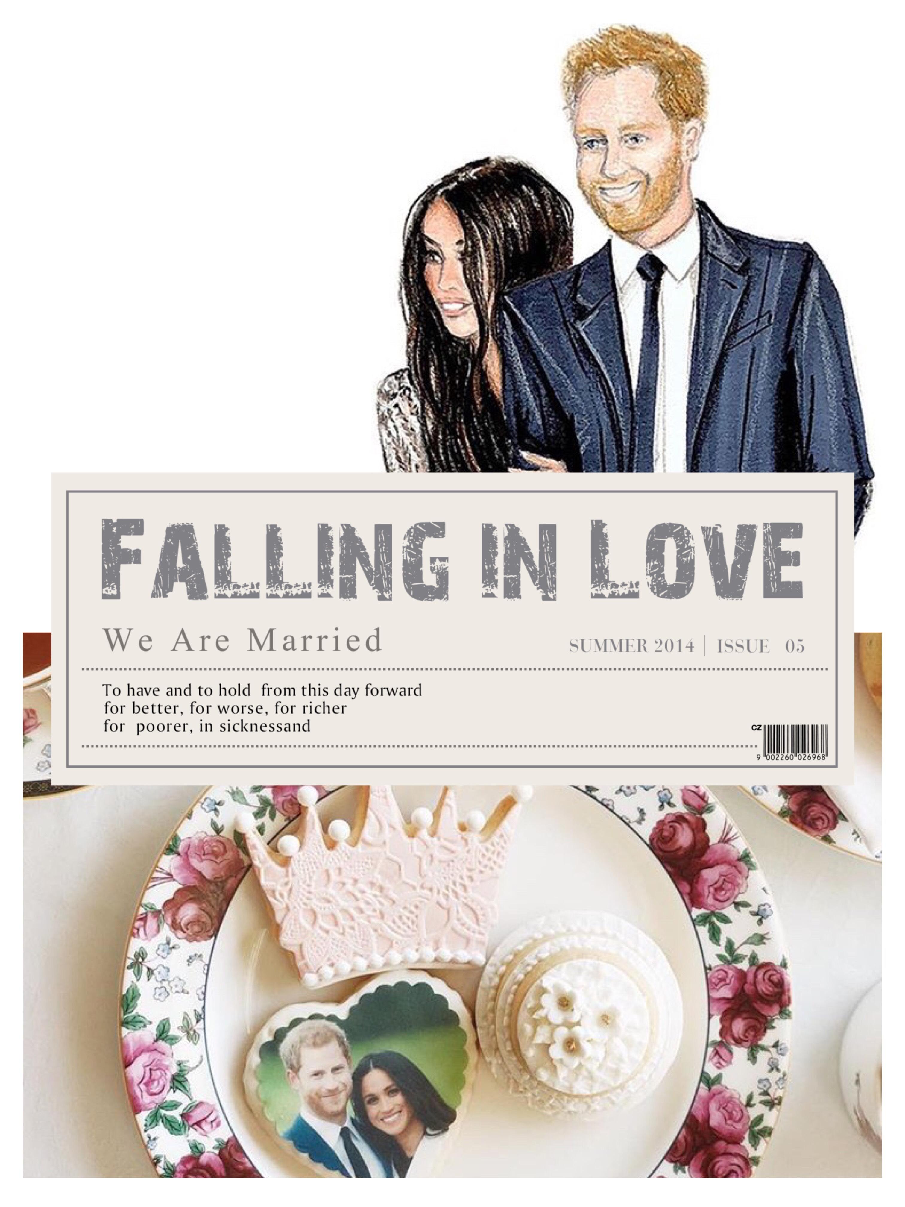 Casamento Real - Fofurices - PJ
