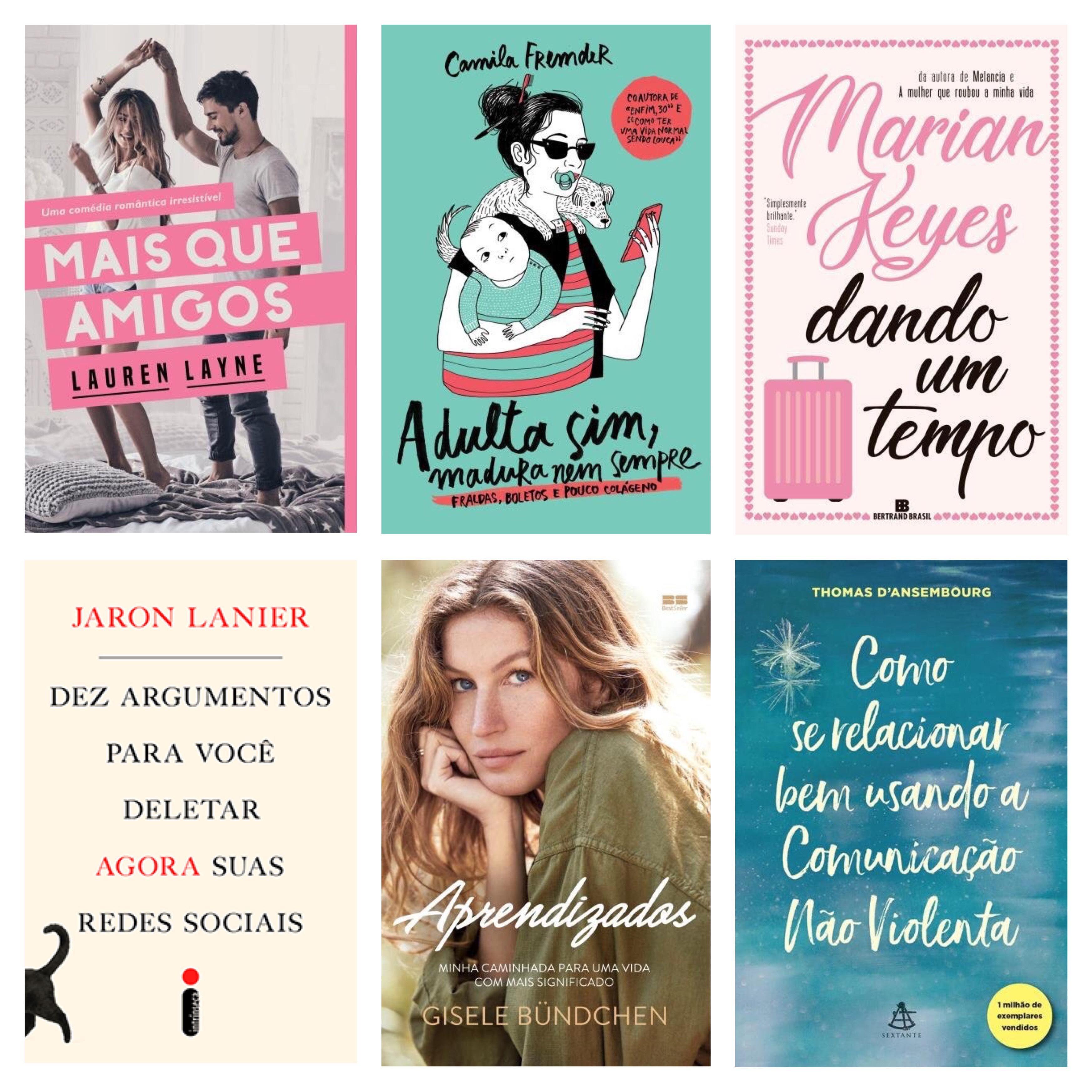 Wishlist Literária Natalina - PJ - 2018