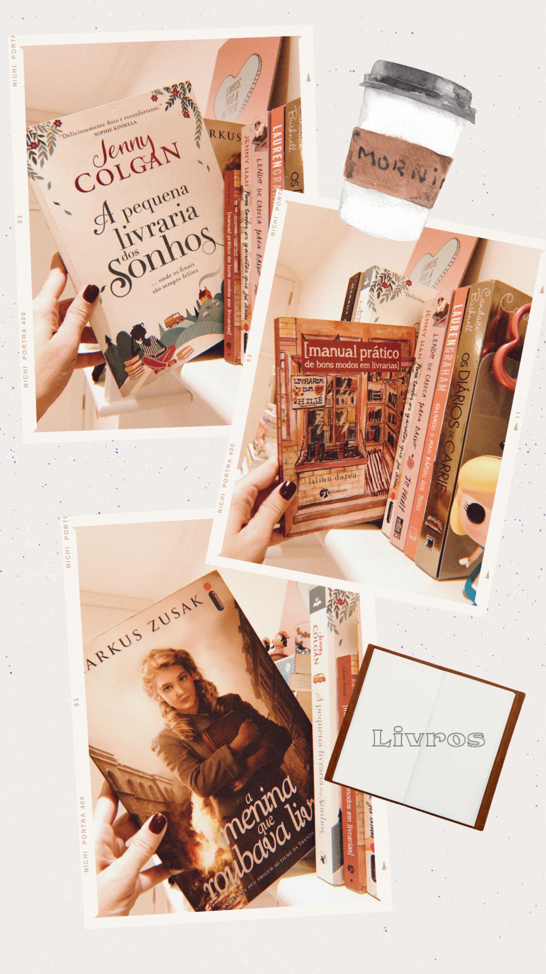 Livros que falam de livros - PJ 1